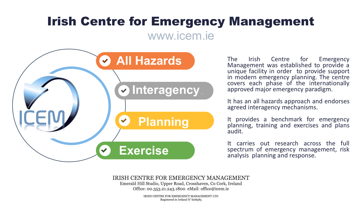 Irish Centre for Emergency Management